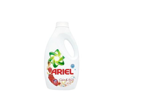 ARIEL folyékony mosószer színes (Color 1,4L) vagy fehér (Lenor Touch 1.5L) ruhákhoz