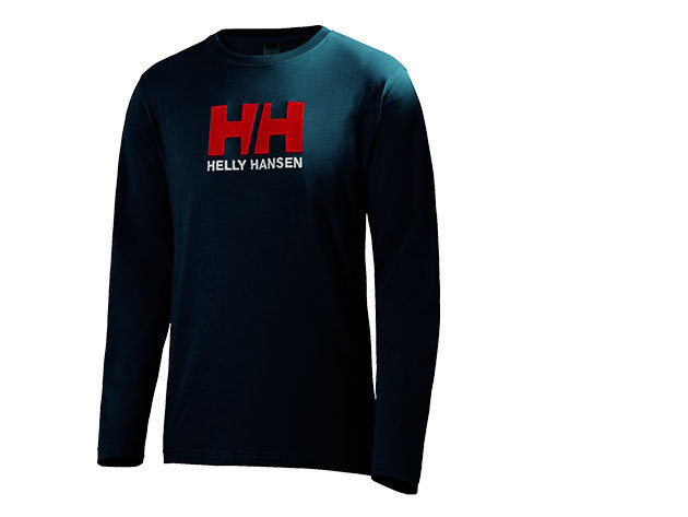 Helly Hansen HH LOGO LS TEE NAVY XL (50588_597-XL)