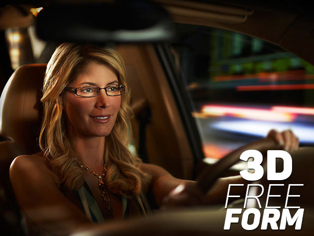 Autóvezető progresszív 3D FreeForm TRAVELLER komplett szemüveg személyre  szabva 6669a96655