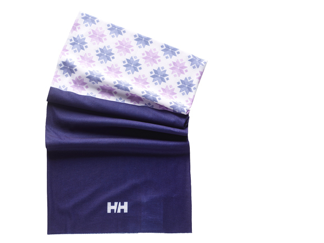 Helly Hansen BUFF NECK NORDIC PURPLE / SNOWFLAKE (67963_697-STD)