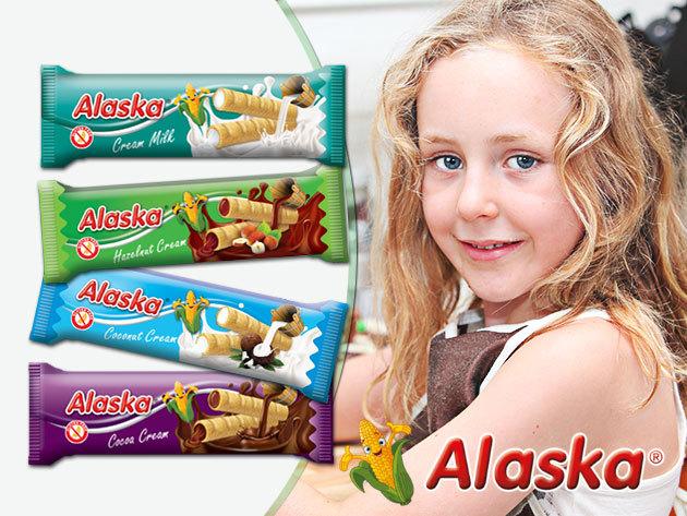 Alaska gluténmentes kukorica rúd 4 ízben - nem csak lisztérzékenyeknek