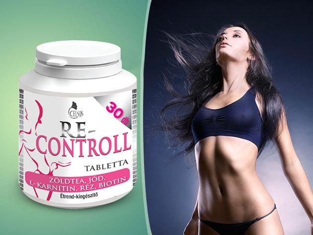 Celsus Re-Controll tabletta - Kontrolláld a súlyodat!