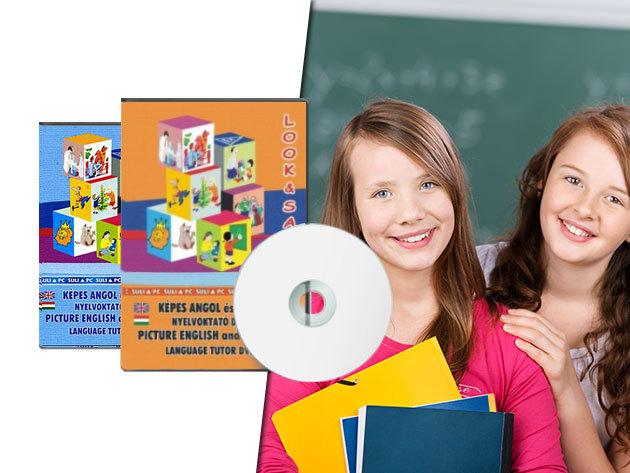 Ajándékozz gyermekednek nyelvtanulást húsvétra! Look & Say - Hatékony, játékos otthoni oktatócsomag (3 éves kortól)