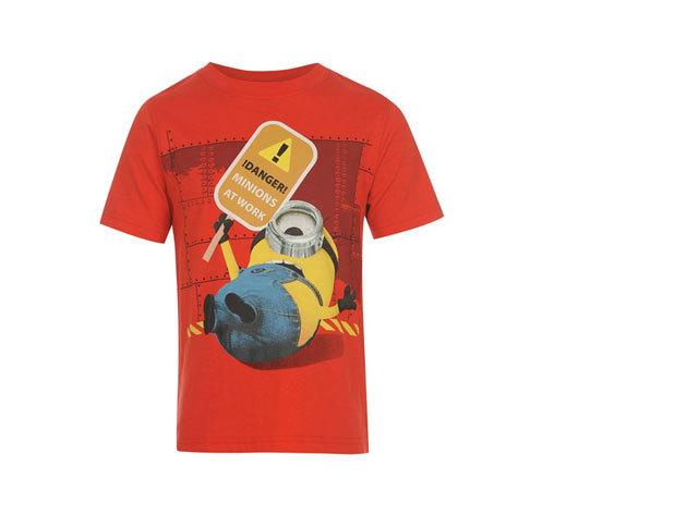 Gru 2 rövidujjú piros póló
