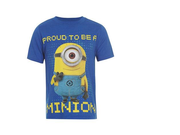 Gru 2 rövidujjú kék póló