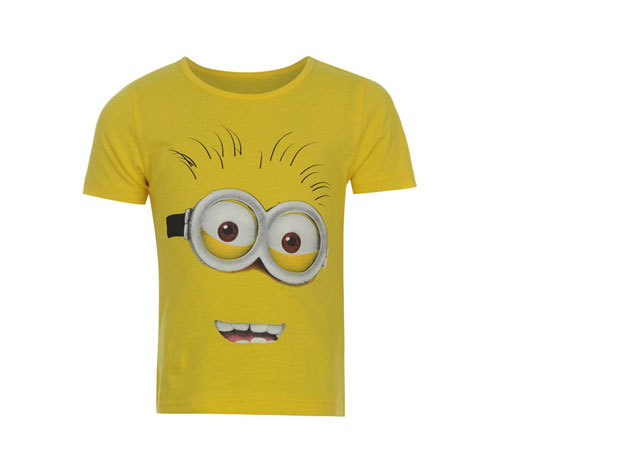 Gru 2 rövidujjú sárga póló