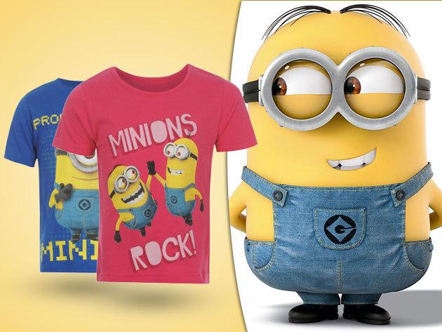 Minion mintás póló gyermekeknek - a Gru című animációs film rajongóinak!
