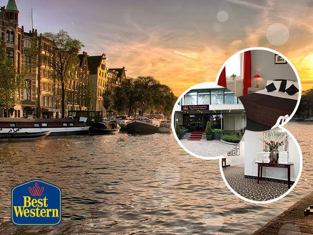Best Western Amsterdam Airport Hotel Uithoorn - szállás 3 nap/2 éjszakára, 2 fő részére, reggelivel