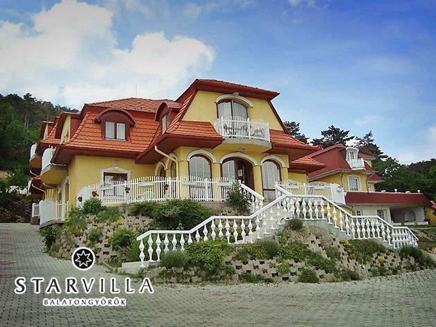 Star Villa Balaton - 2 éjszaka szállás 2 fő részére, reggelivel és wellnessel