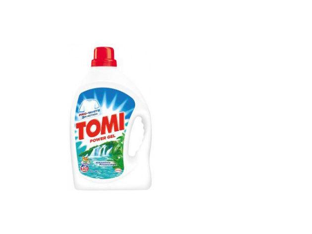 TOMI folyékony mosószer - Amazónia frissessége 4,38 liter (fehér ruhákhoz)