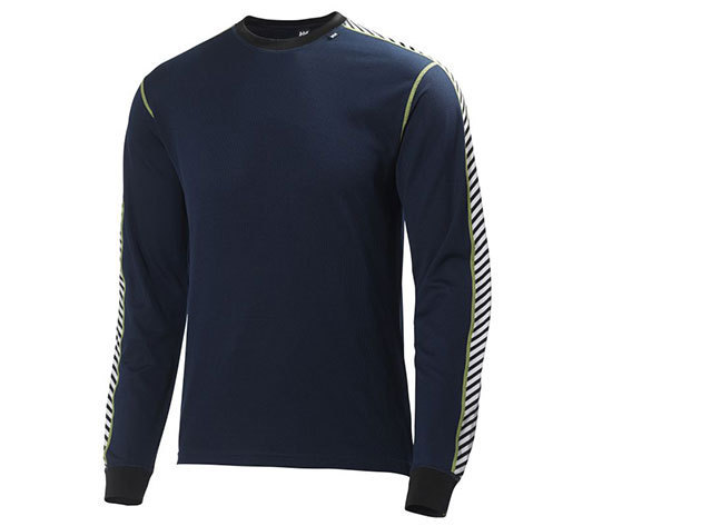 Helly Hansen HH DRY STRIPE CREW EVENING BLUE L (48800_690-L)