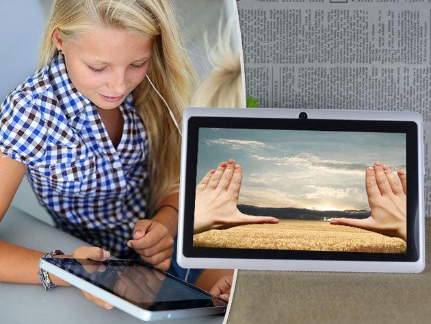 """Q88R 7"""" tablet - egy személyi szórakoztató központ, akár gyermekek számára is"""