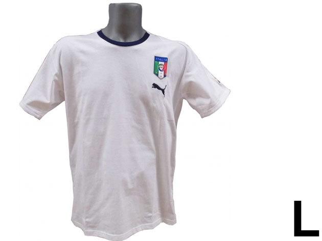 Puma Italia férfi fehér póló - L