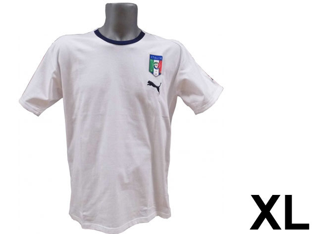 Puma Italia férfi fehér póló - XL