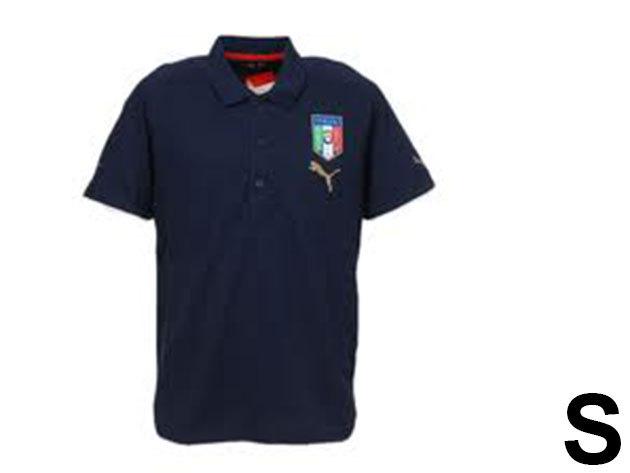 Puma Italia galléros férfi póló - S