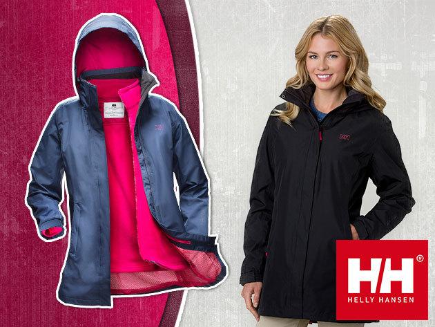 Helly Hansen W ADEN CIS COAT kétrétegű víz-, és szélálló, lélegző hosszított női kabát