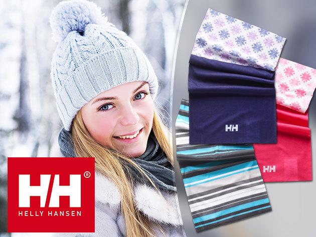 Helly Hansen BUFF NECK - variálható sál és fejpánt egyben, trendi mintákkal