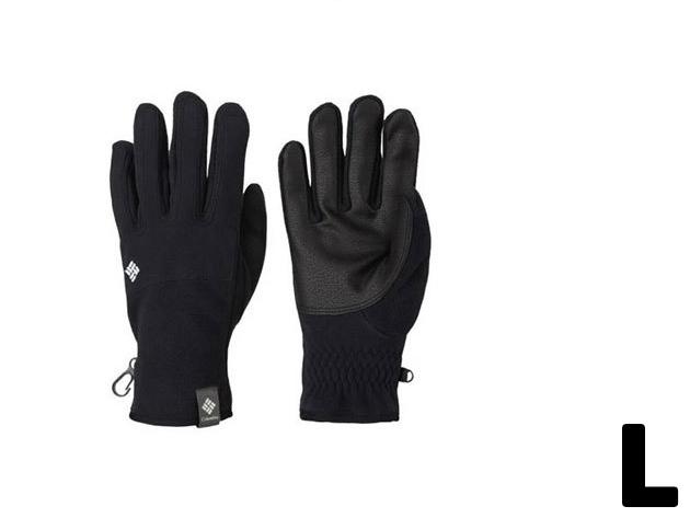L -Férfi polár kesztyű Omni-Shield™ vízlepergető képességgel és Omni-Heat™ hőtartó béléssel, 100% poliészter (SM9476j_010 M Ascender Soft Shell Glove)