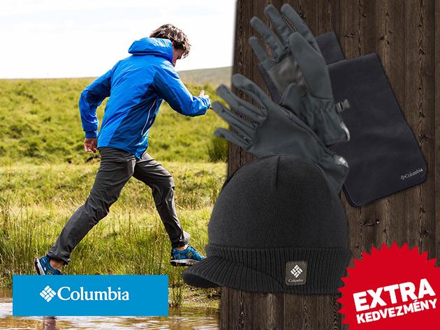 COLUMBIA OUTLET! Sapka, kesztyű és sál - prémium minőségű téli kiegészítők