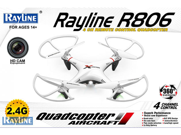 "Rayline R806 RTR ""Drón"" kamerával"