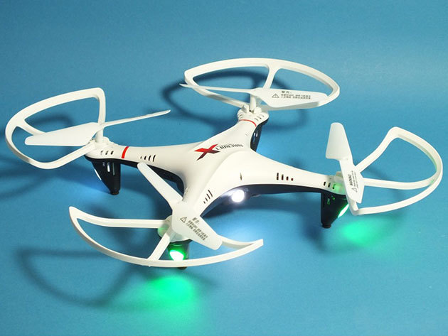 """Rayline R806 RTR """"Drón"""" - quadrokopter 720p HD kamerával, beépített giroszkópokkal"""