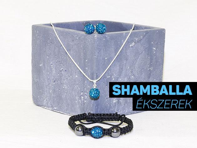 Egyedi Shamballa ékszerszettek magyar tervezőtől - fülbevaló, nyaklánc, karkötő