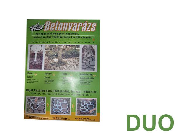 DUO PACK - Műanyag térkősablon
