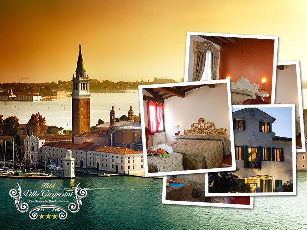 Velencei romantika: 4 nap/3éj szállás 2 fő részére reggelivel - Villa Gasparini, Dolo, Velence közelében