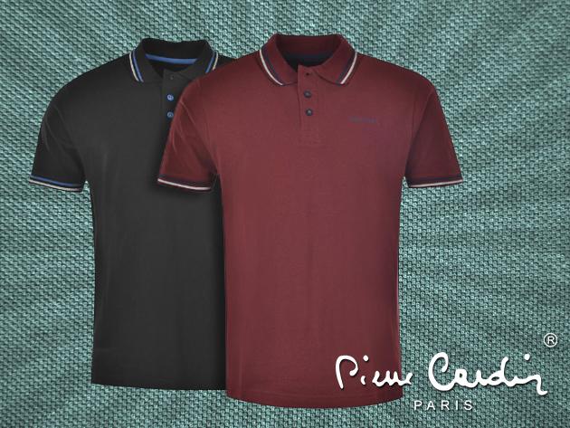 Pierre Cardin piké póló 2 színben, 100% pamutból - laza elegancia