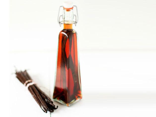 Home made vanília kivonat - 250 ml üveg, 5 db vaníliarúddal