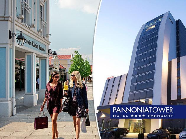 Pannonia Tower Hotel Parndorf - 4 nap 3 éjszaka szállás 2 fő részére  reggelivel 2072e2775ab