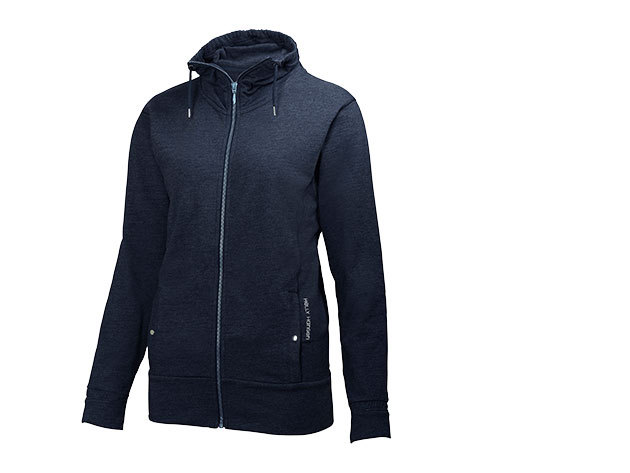 Helly Hansen W BLISS FZ CARDIGAN EVENING BLUE L (54171_689-L)