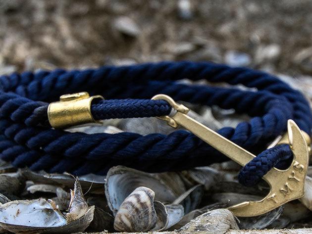 Tom Marton Leman Collection - Ohau - Navy kék, horgonyos