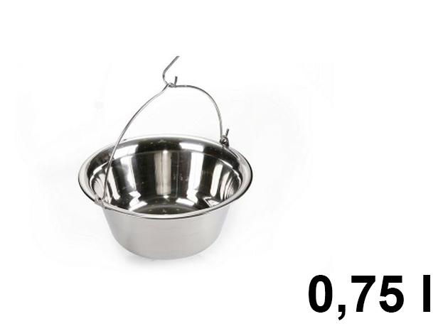 Gulyás bogrács 0,75 l-es / BL-1055