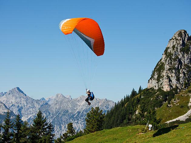 Siklóernyős és motoros siklóernyős alapgyakorlatok és élményrepülés 2 napban
