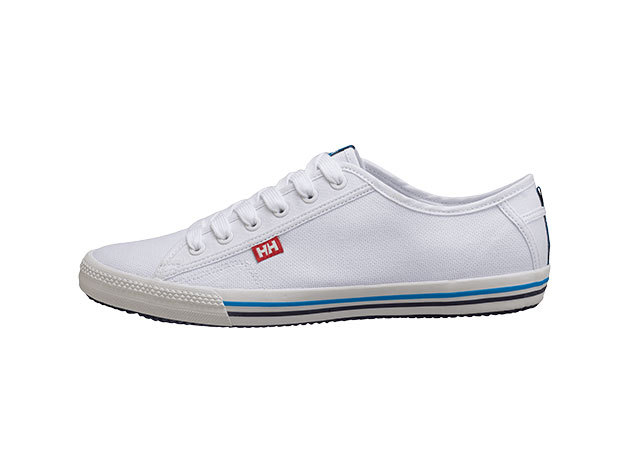 Helly Hansen FJORD CANVAS WHITE / NAVY / AZURE BLUE 44.5/10.5 (10772_001-10.5)