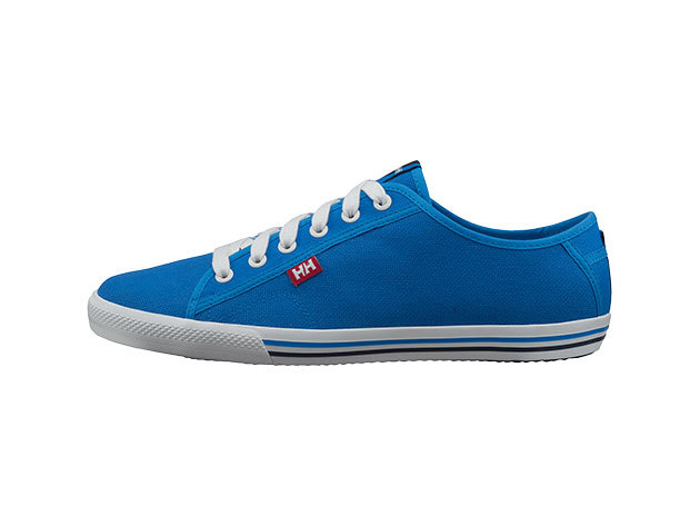 Helly Hansen FJORD CANVAS RACER BLUE / OFF WHITE / 43/9.5 (10772_535-9.5)