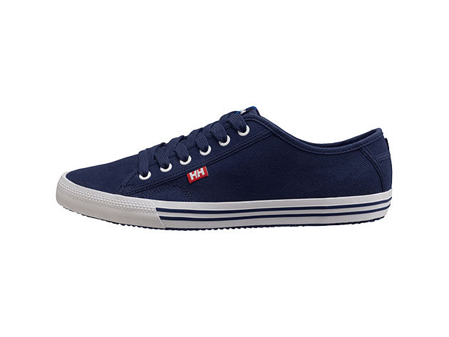 Helly Hansen FJORD CANVAS NAVY / WHITE 43/9.5 (10772_597-9.5)