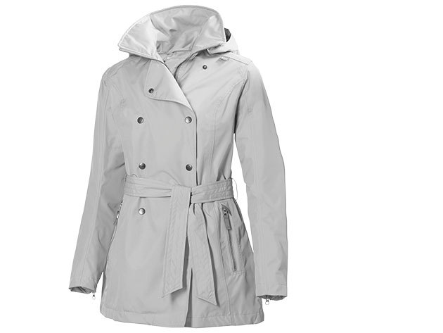 Helly Hansen W WELSEY TRENCH ASH GREY XL (62383_813-XL)