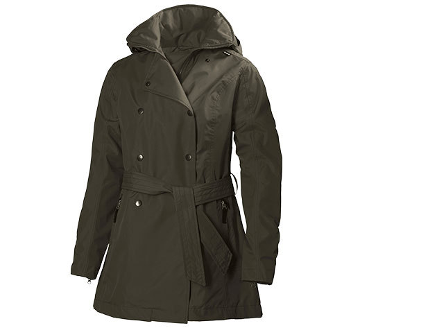 Helly Hansen W WELSEY TRENCH SOIL GREEN S (62383_272-S)