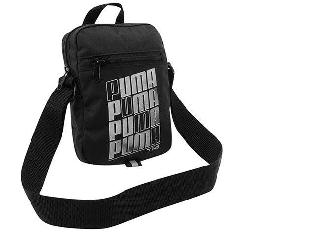 Puma Pioneer Portable táska / fekete - ezüst