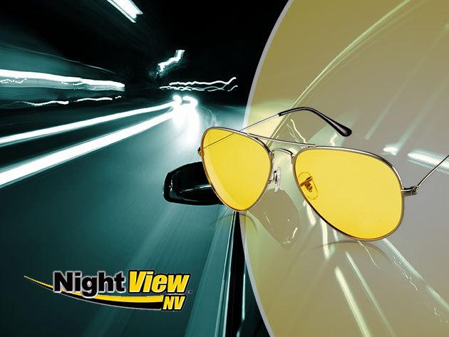 Night View - unisex szemüveg vezetéshez, mely nappal és éjjel is javítja a látásélményt