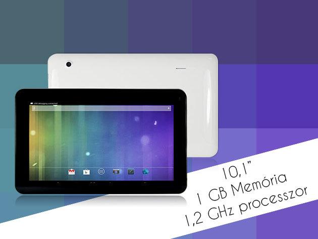Tablet szuper áron 10,1″-os kijelzővel - Játssz, videózz, fotózz és szörfözz a neten!