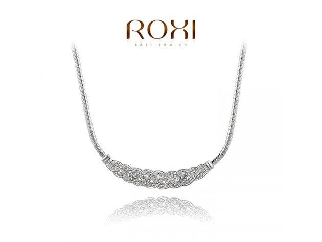 ROXI Elegáns nyaklánc 18 karátos arany bevonattal