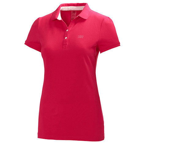Helly Hansen W BREEZE PIQUE POLO BERRY PINK S (50923_240-S)