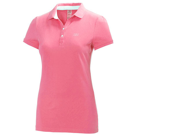 Helly Hansen W BREEZE PIQUE POLO SPARKLING PINK XS (50923_242-XS)