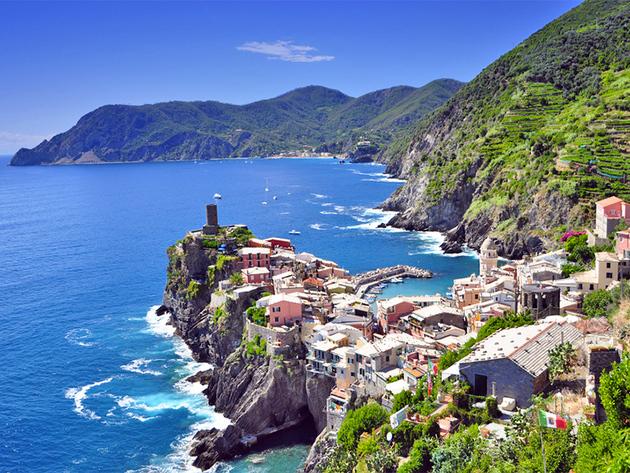 2015. június 15-21. Cinque Terre, LIGÚRIA CSODÁI - 7 nap tengeren és vasúton. Utazással, szállással, reggelivel /fő