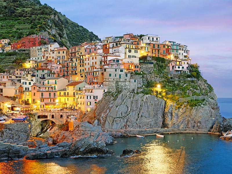 2015. szeptember 14-20. Cinque Terre, LIGÚRIA CSODÁI - 7 nap tengeren és vasúton. Utazással, szállással, reggelivel /fő