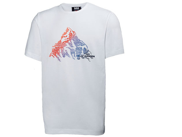 Helly Hansen JOTUN GRAPHIC T-SHIRT WHITE M (54219_002-M)