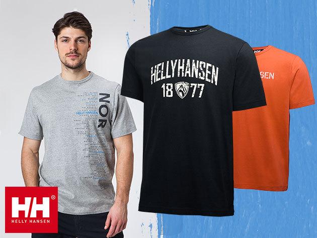 Helly Hansen JOTUN GRAPHIC T-SHIRT férfi póló 100% pamut anyagból
